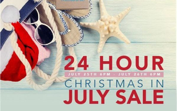 30% Off – Christmas in July!