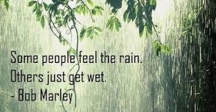 ahhhh the rain…